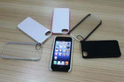 Snap on hard back and soft borders cover case for iphone case