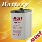 Low Self-discharge 2v 400ah battery