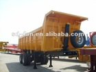 Two axles Dump semi trailer: