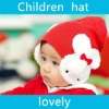 New eye catching cute baby/kids wool rabbit cap hat/ear flaps(#1964)