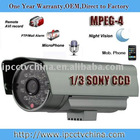 wired outdoor waterproof ip camera with ir 20m