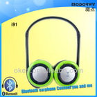 Hot 10 in 1 Stereo Bluetooth Earphones,Wireless Bluetooth Headphones i91 support TF Card
