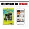 New arrival clear screen protector for ipod touch 5 apple ipod screen protector