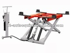 Portable cheap scissor car lift moveable lifts