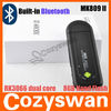 Bluetooth built-in dual core android tv box! Cortex-A9 Dual Stick MK809 ii Android4.1 mk802 iii dual core android tv box