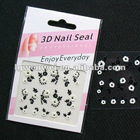 2012 3d nail sticker