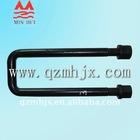 High tensile heavy Galvanized U bolt manufacturer