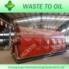 green energy pyrolysis tire diesel machine
