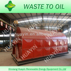 green energy pyrolysis tire diesel machine