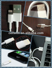 wholesale newest ligihing 8 Pin USB cable for iphone 5