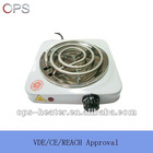 potable single electric hot plate