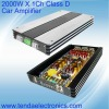 2000W Class D car subwoofer Amplifier
