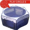 2011BLUE PLAY CERCLE SIZE S OF indoor cat cages