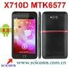 5.3 inch touch screen MTK6575 dual core WCDMA 3G smartphone X710D