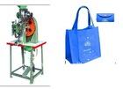semi- automatic snap fastening machine
