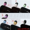 Finely processed Capacitive Touch Pen and earphone jack dust plug in one for iphone ipad series