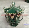 2012 Fashion garden solar light frame of Wrought iron