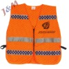 High Counter-Reflectivity Tape 100%Polyester Knitted Fabric or Oxford Reflective Safety Vest
