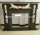 2012 popular marble stone fireplace