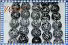 agate-59 black agate ball, snow agate ball, agate gemstone accessories