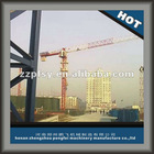 Hydraulic Tower Crane With Swing Top