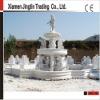 Marble stone fountain