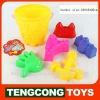 Sand Bucket set/ plastic beach toys