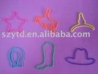 2012 new fashion silicone rubber bands