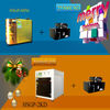 Christmas gift 3d face laser engraving machine HSGP-MINI