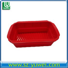 FDA top quality rectangle silicone baking mould silicone cake mold for kitchenware