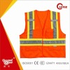 Hi Viz Reflective Work Safety Jacket With 3M Tape And Pockets