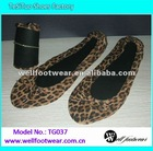 2013 fashion leopard flats