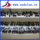 Railway fasteners different types of screws bolts
