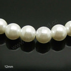 wholesale 12mm glass pearl beads loose pearls for cheap for jewelry making