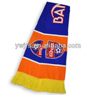 jacquard sports scarf for sale