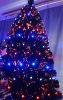 LED christmas new year tree
