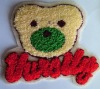 towelling embroidery patch