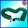 Coiled EVA Water Hose with Water Spray Nozzle
