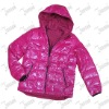 2012 Lady's Down Jacket With Hood