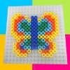 Educational DIY ironing plastic beads toy kit