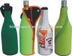 Eco-friendly 3mm SBR INSULATED neoprene Bottle Cooler