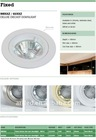 Die cast downlights