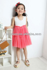 2012 new design lovely girls' dresses for summer kids fashion dresses pictures