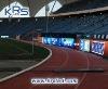 P20mm waterproof RGB Stadium LED billboard frame