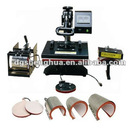 8 in 1 combo heat press machine,Multifunction T shirt transfer machine