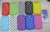 Polka dots case for samsung galaxy s3 with many color available