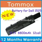 Laptop battery for Dell Inspiron 1525 1526 1545 1440 1750,GW240,HP297,RN873,XR693 laptop battery