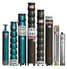 QJ(R) electric submersible pump for deep well and borehole