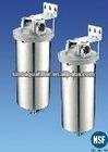 Metal stainless steel single water filter housing HMFseries