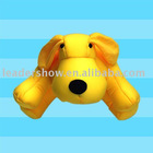 2011 latest fashion stuffed dog toy( beads toy)